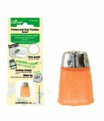 Protect and Grip Thimble ° Rutschfester Fingerhut ° Small Neu OVP Clover  6025