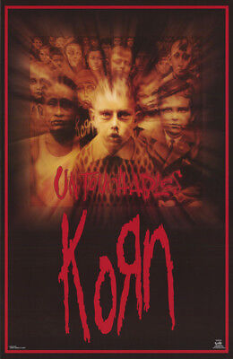 Poster - Music: Korn -  Untouchables      Free Shipping !!    #6232  Rc38 Y