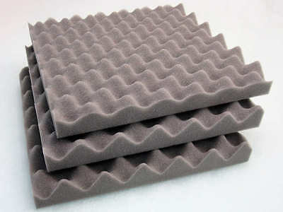 Acoustic Convoluted Profile Foam Treatment 24 Tiles + 1 Heavy Duty Spray Glue