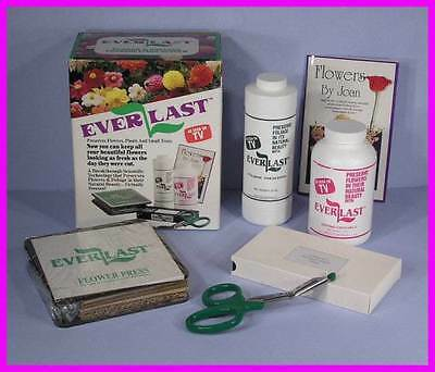 EverLast Flower & Foliage Preservation Complete Kit / System 'As Seen on TV' NEW