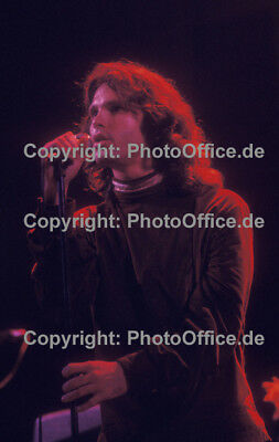 The Doors Jim Morrison 1969 very rare 12 x 18 concert photo poster from negative