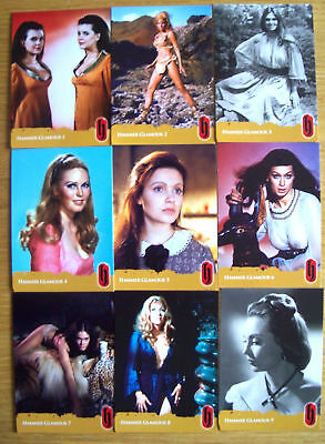 Hammer Horror Trading Cards Series 2 Basic & Chase Set
