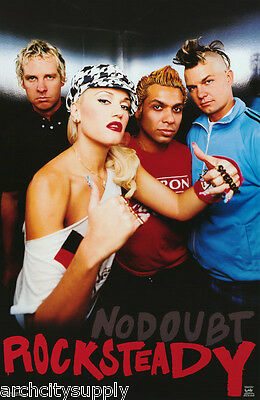 POSTER : MUSIC : NO DOUBT - ROCKSTEADY    FREE SHIPPING  !     #6222      RP75 i