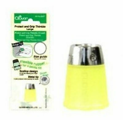 Protect and Grip Thimble ° Rutschfester Fingerhut ° Large Neu OVP Clover 6027
