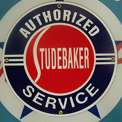 STUDEBAKER - Porcelain Coated Metal Sign