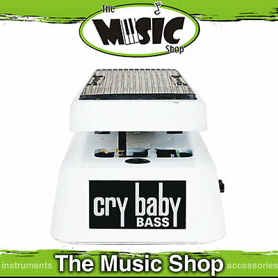 Dunlop 105Q Bass Q Crybaby Wah Pedal for Bass Guitar - New GCB105Q Cry Baby