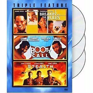 Jamie Foxx Triple Feature: Breakin All The Rules / Booty Call / Stealth