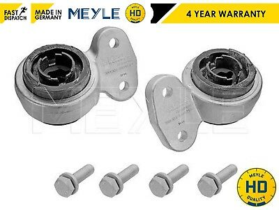 FOR BMW 3 Series E46 Meyle HD Front Wishbone Control Arm Rear Bushes Mounts Kit