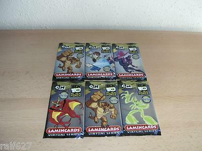 Ben 10 Alien Force Lamincards - Edibas - 6 Tüten