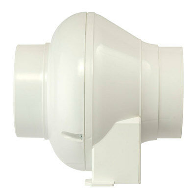 "Manrose CFD200TN In Line Centrifugal Extractor Fan with timer - 4"" CFD200T"