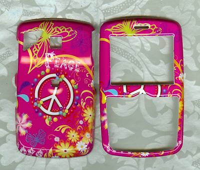 PEACE PINK PHONE COVER CASE PANTECH REVEAL C790 AT&T