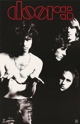 POSTER : MUSIC : DOORS - GROUP  POSED  -   FREE SHIP ! #9026 LC19 i