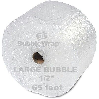 "Bubble Wrap 65 ft  x 12"" Large Sealed Air 1/2"" Bubble"