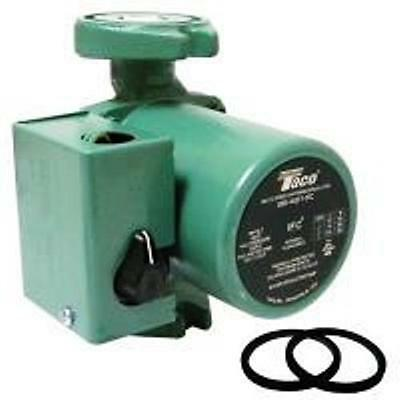 Taco 00R-Ifc3Sp 1/20 Hp 3-Speed Cast Iron Circulator Pump With Ifc