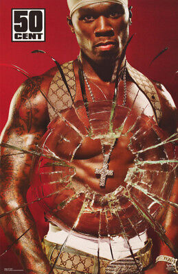 Poster :rap :  50 Cent - Bullet Hole -       Free Shipping !  #6590  Lc15 F