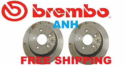 2-Pieces Brembo 25489 Front Disc Brake Rotor Pair