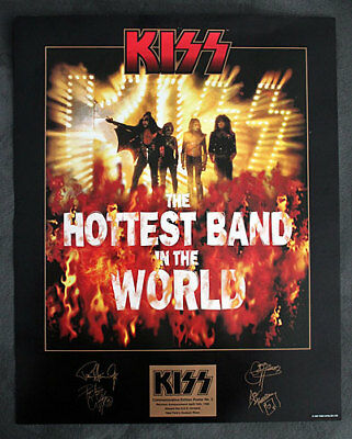 Hottest Band In the World Reunion Poster KISS 1996