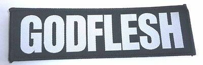 """Godflesh """"Logo"""" Patch - NEW streetcleaner pure songs love hate messiah"""