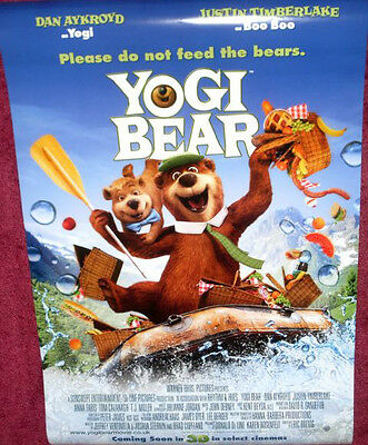 Cinema Poster: YOGI BEAR 2011 (Main One Sheet) Justin Timberlake