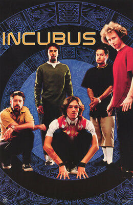 Poster - Music - Incubus - All 5 Posed  - Free Shipping !  #9074  Rc33 Y
