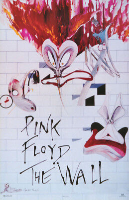 Poster : Music : Pink Floyd - The Wall -   Free Shipping !   #7516        Lc19 D