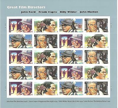 Usa Mnh Great Film Directors First Class Forever Stamps S-3026