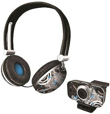 Trust Urban Revolt 17633 Future Breeze Chatpack With Headset & Matching Webcam