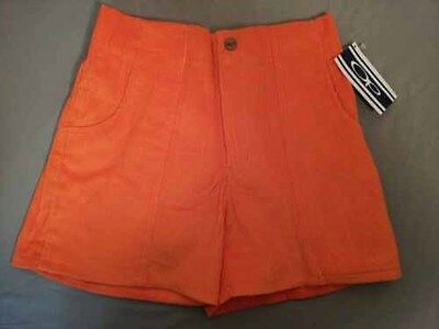 size 30 yellow and orange op shorts corduroy