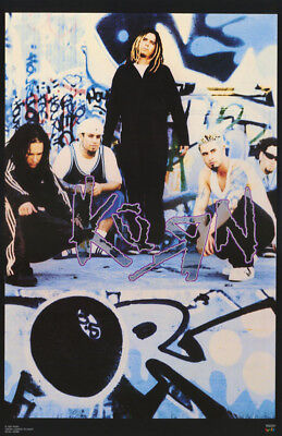 Poster : Music: Korn -  All 5 Posed      Free Shipping !   #6164  Rc40 M