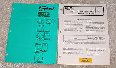 Storing & Redrying Welding Manual Electrodes Phoenix Dryrod Oven & Lincoln Elect