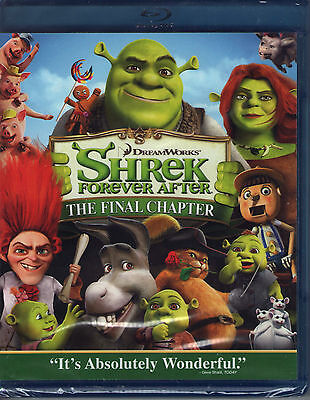 SHREK FOREVER AFTER new blu-ray