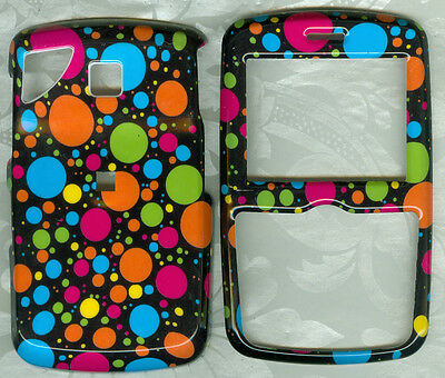 LOVE POLKA DOT FACEPLATE PHONE COVER SNAP ON CASE PANTECH REVEAL C790 AT&T