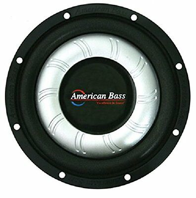 """NEW 10"""" SubWoofer Speaker.4 ohm.ten inch bass sub woofer.Slim Fit.Shallow Mount"""