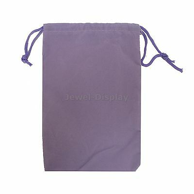 50 Lavender Velvet Square Wedding Pouches Jewelry Gift Bag 4X6""