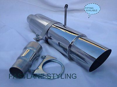 Ford Focus All Models Universal Stainless Performance Back Box Exhaust Lmr006S