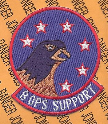 USAF Air Force 8th OSS Operational Support Squadron patch