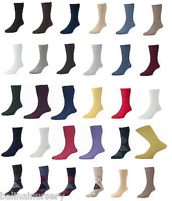 HJ Hall Softop Socks Cotton and Wool Mens sizes 4 to 15 HJ91, HJ90,  wholesale