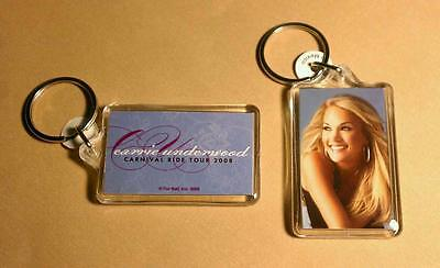 CARRIE UNDERWOOD PHOTO COUNTRY AM IDOL DouBLe SIDED ZIPPER PULL Acrylic KEYCHAIN