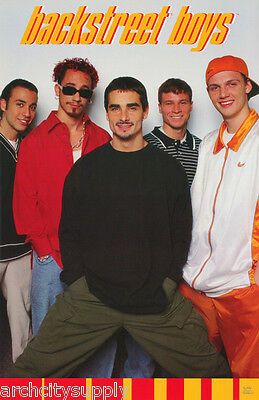 Poster : Music : Backstreet Boys -Group Hands In Pocket - Free Ship #7503 Lc22 N
