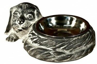 Luxurious Cast Iron Dog Bowl Feeder Bowls Water Food Pet Dishes Dish Cat NEW