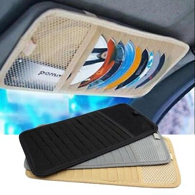 12 slot CD DVD Storage bag Holder Case for Car sunshade visor 12 disc