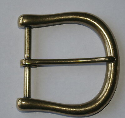 Solid Brass Finish Belt Buckle 45mm New top quality D8