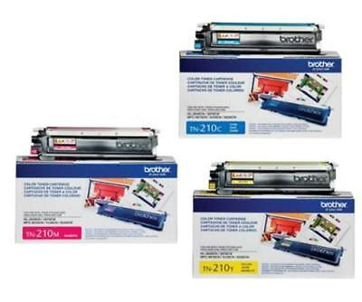 Genuine Oem Brother Tn-210 Tn210 Color Set Mfc-9320Cw New (3-Pack)