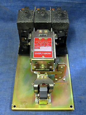 Square D Lighting Contactor 100 Amp 8903QG11 8903SQG11V02 120V Coil