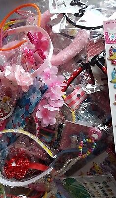 50x premium mixed girls jewellery and hair accessories lot NEW joblot resale
