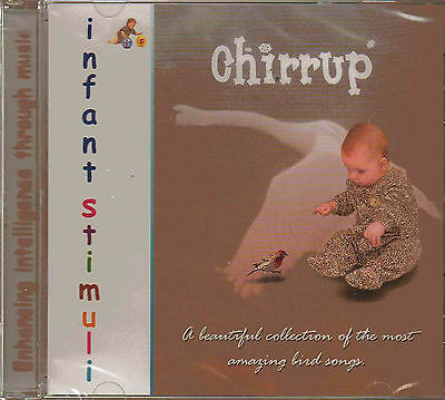 Music Therapy CD Chirrup Bird Songs Collection to Enhancing Baby's Intelligence