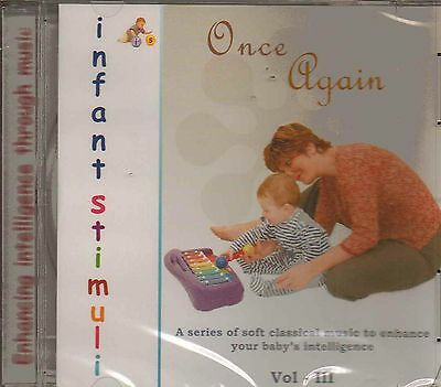 Musical CD - Once Again Soft Classical Music to Enhance Babies Intelligence NEW