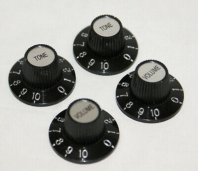 Skirted, Witch Hat Knob For Vint Fender, Gibson Les Paul Etc Vol Or Tone/g