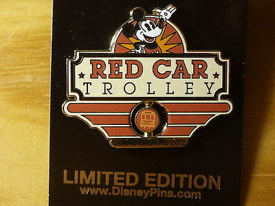 Disney California Adventure DLR Red Car Trolley Grand Opening
