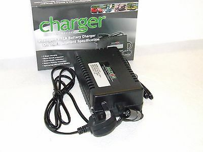 Fully AUTOMATIC 24V 5amp  Mobility Battery Charger -  for 30Ah to 75Ah Batteries